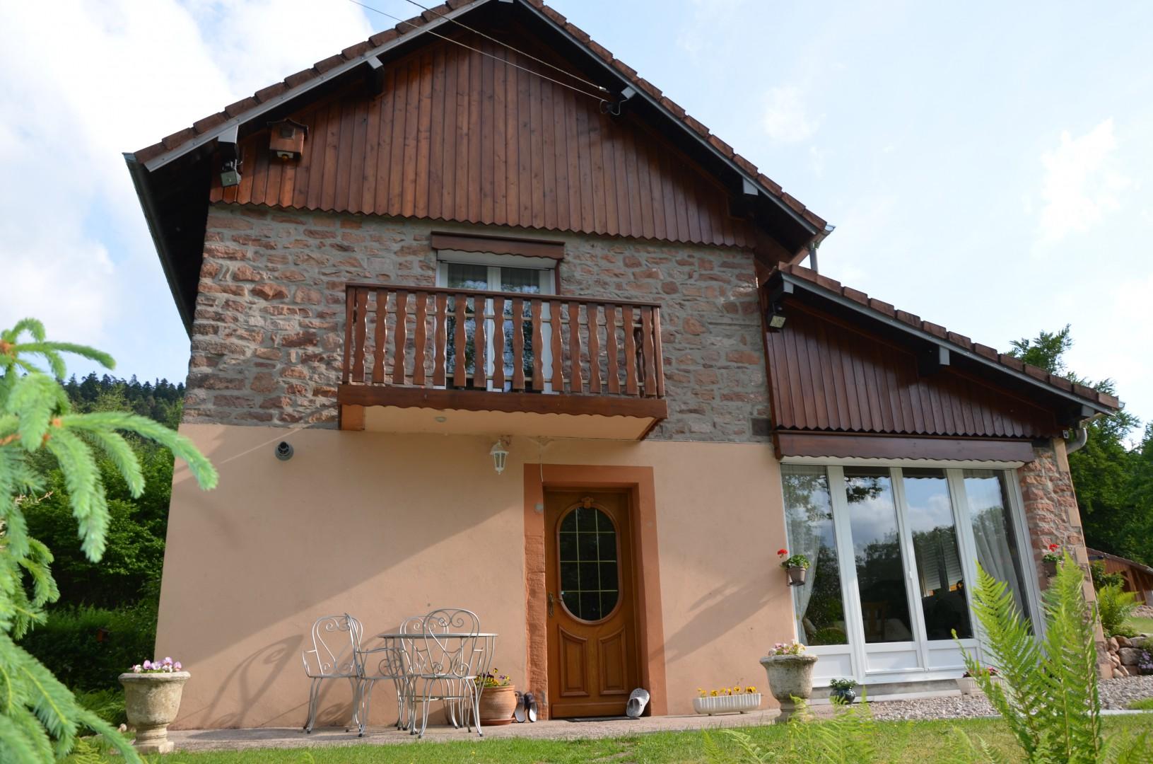 Prachtige woning tussen Gérardmer en St. Die des Vosges