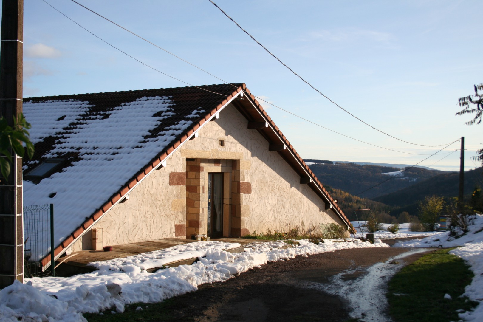 Woning met schitterend uitzicht over vallei
