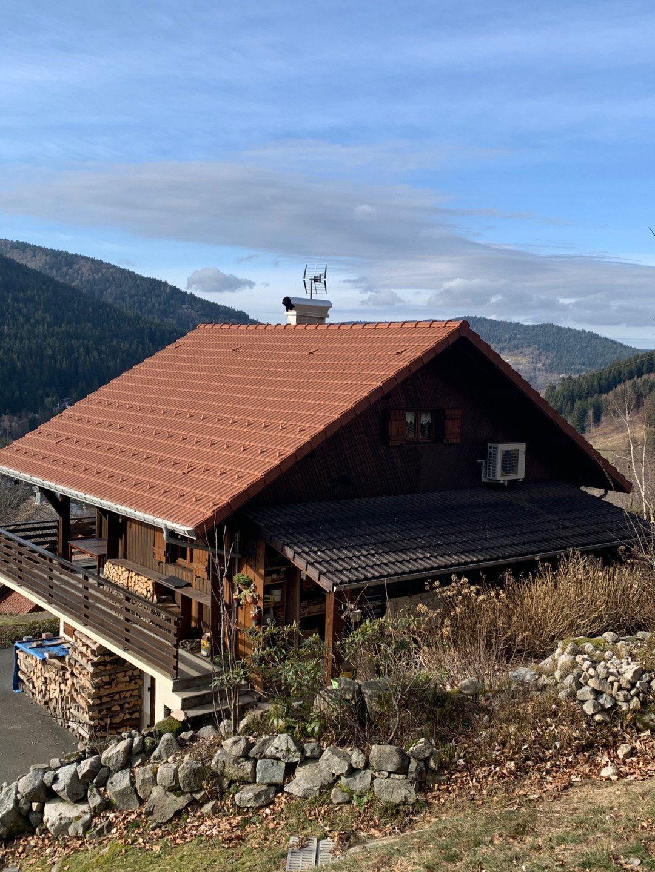 Chalet in Ventron met prachtig uitzicht over de vallei op het zuiden